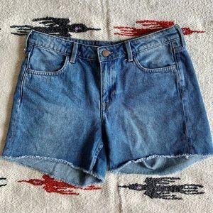 H&M denim mom jean shorts / jorts size 8